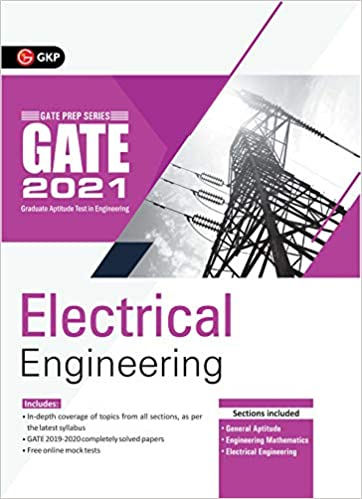 GATE 2021 - Guide - Electrical Engineering cover