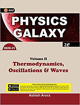 Physics Galaxy 2020-21 Vol.2 - Thermodynamics, Oscillations & Waves 2e cover