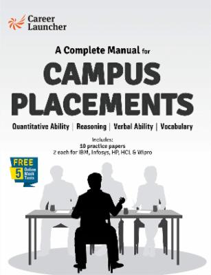 A Complete Manual for Campus Placements cover