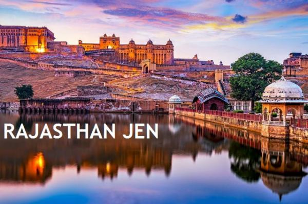 RAJASTHAN JEN cover