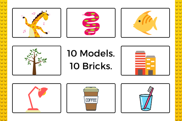 10 Models With ONLY 10 Bricks cover