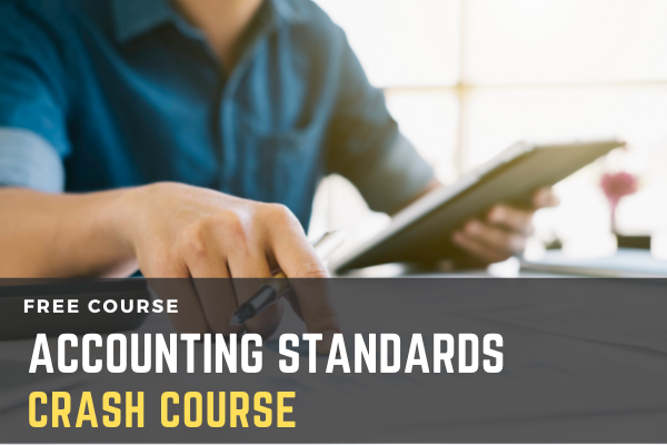 Free Crash Course on Accounting Standards cover