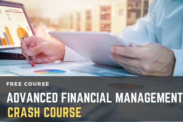 Crash Course On Advanced Financial Management cover