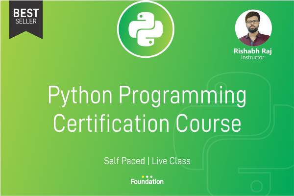 Python Certification Course cover