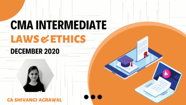 CMA Intermediate Laws & Ethics For Dec 2020 cover