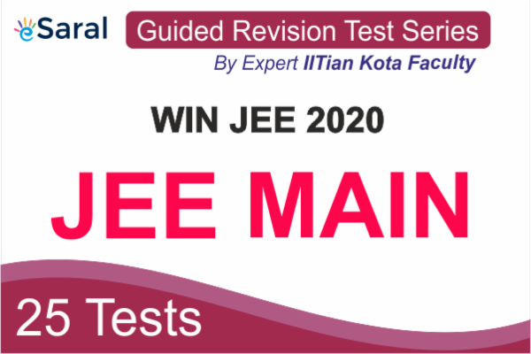 Win JEE 2020 JEE MAIN Guided Revision Test Series cover