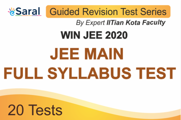 Win JEE 2020 JEE MAIN Guided Revision Test Series - Full Syllabus Tests cover