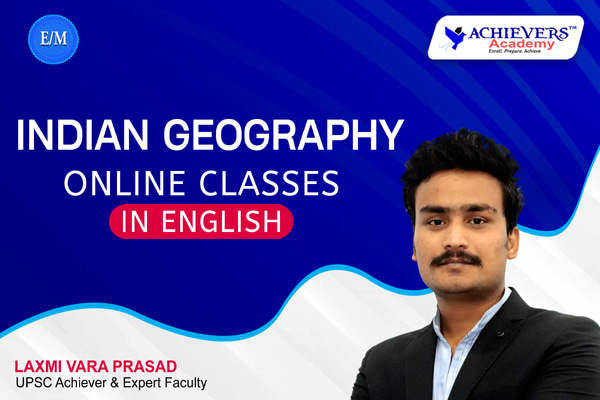 Indian Geography Online Classes in English cover