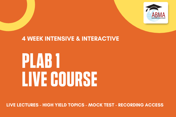 PLAB 1 Live Course cover