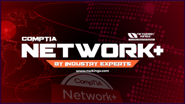 Comptia Network + cover