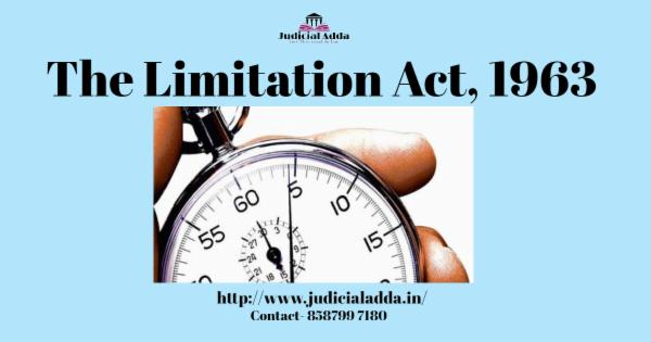 The Limitation Act, 1963 cover