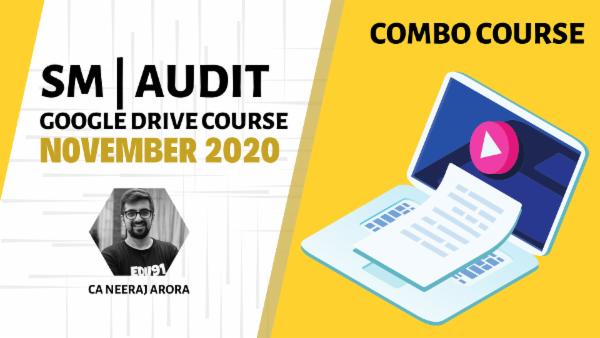 CA Inter Audit & SM Combo - Google Drive-Nov 2020 cover