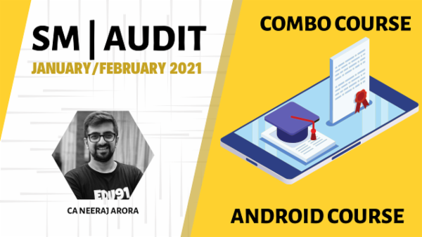 CA Inter Audit & SM Combo- Android App-Nov 2020 cover