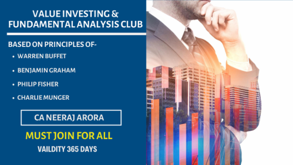 Value Investing & Fundamental Analysis Club cover