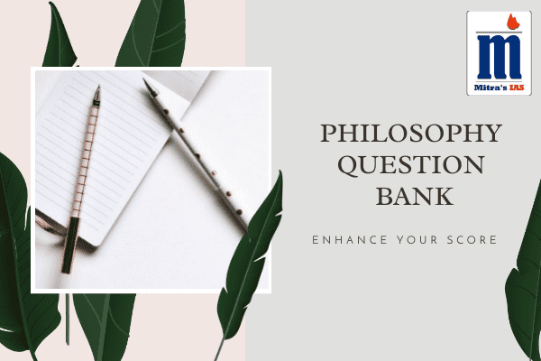 Philosophy Question Bank cover