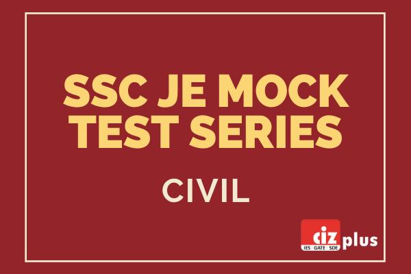 SSC JE Mock Test Series (Civil) cover