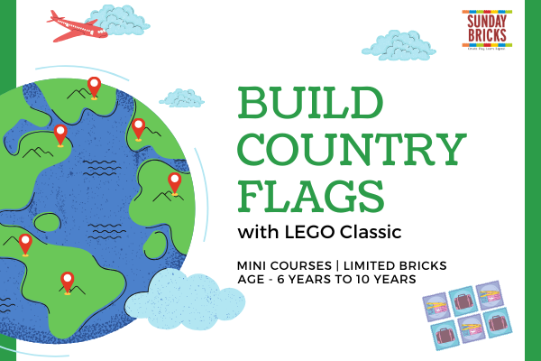 Build LEGO Country Flags cover