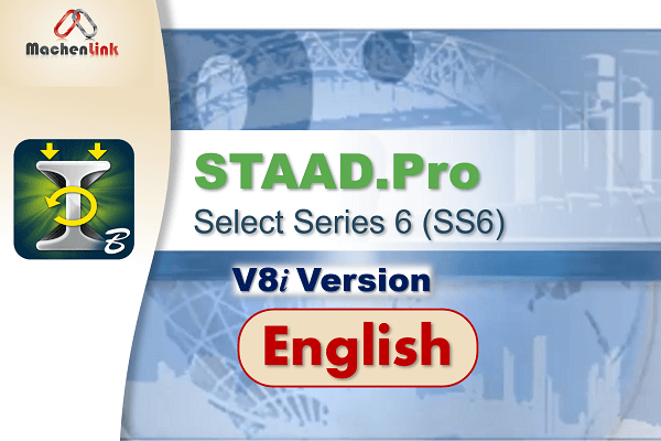 STAAD.Pro V8i (SS6) cover