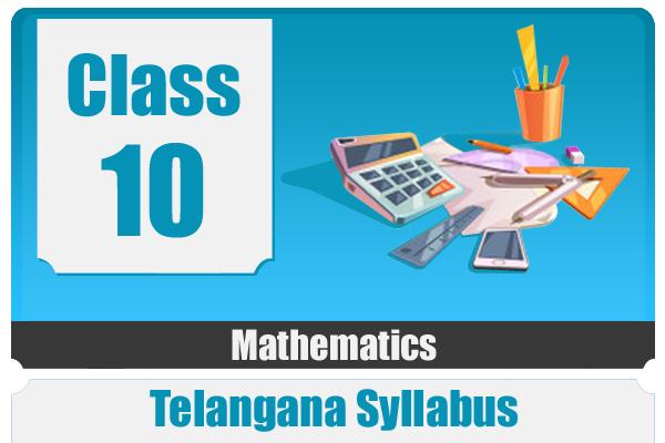 CLASS 10 MATHEMATICS - TS cover