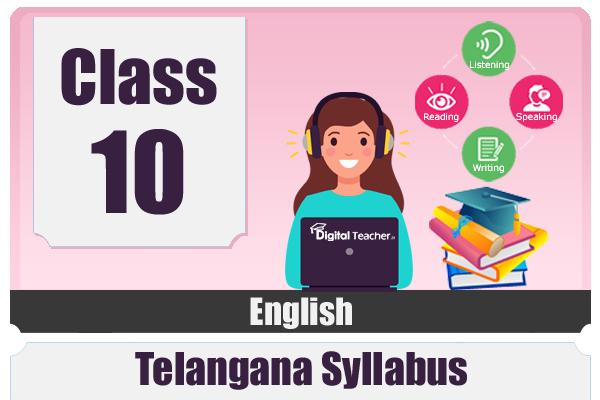 CLASS 10 ENGLISH - TS cover