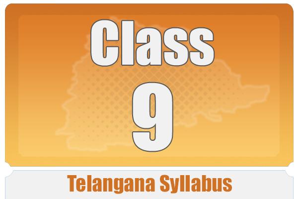 CLASS 9 TELANAGANA SYLLABUS cover