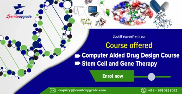 Computer Aided Drug Design/Discovery + Stem cell and gene therapy cover
