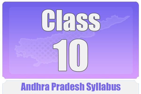 CLASS 10 ANDHRA PRADESH SYLLABUS cover
