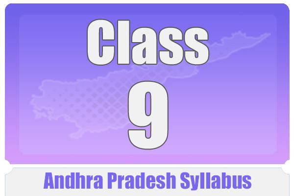 CLASS 9 ANDHRA PRADESH SYLLABUS cover