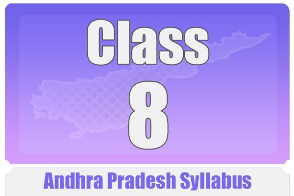 CLASS 8 ANDHRA PRADESH SYLLABUS cover