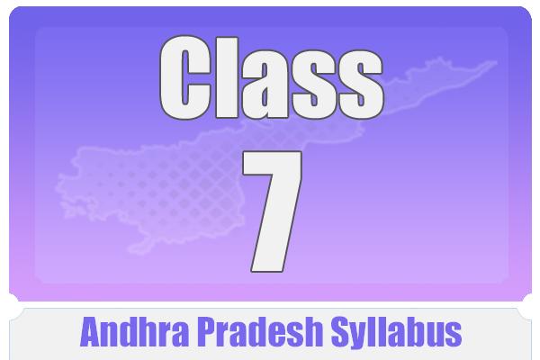 CLASS 7 ANDHRA PRADESH SYLLABUS cover