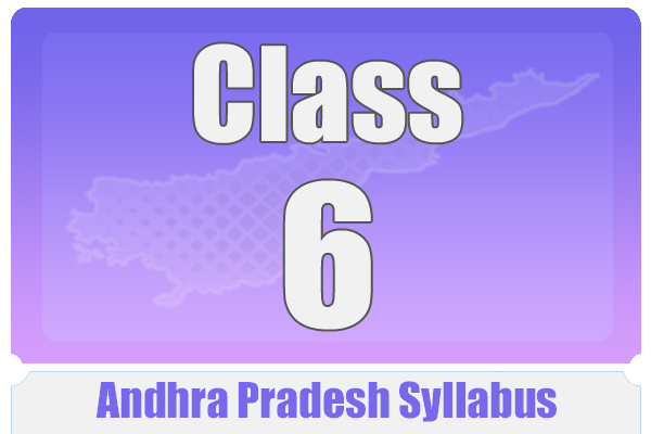 CLASS 6 ANDHRA PRADESH SYLLABUS cover