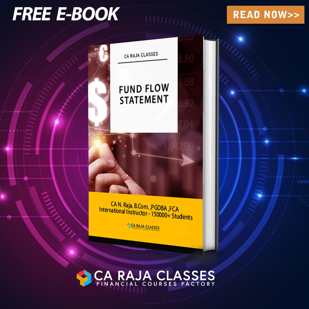 E-Book on Fund Flow Statement cover
