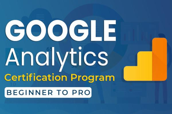 Google Analytics Mastery Course cover