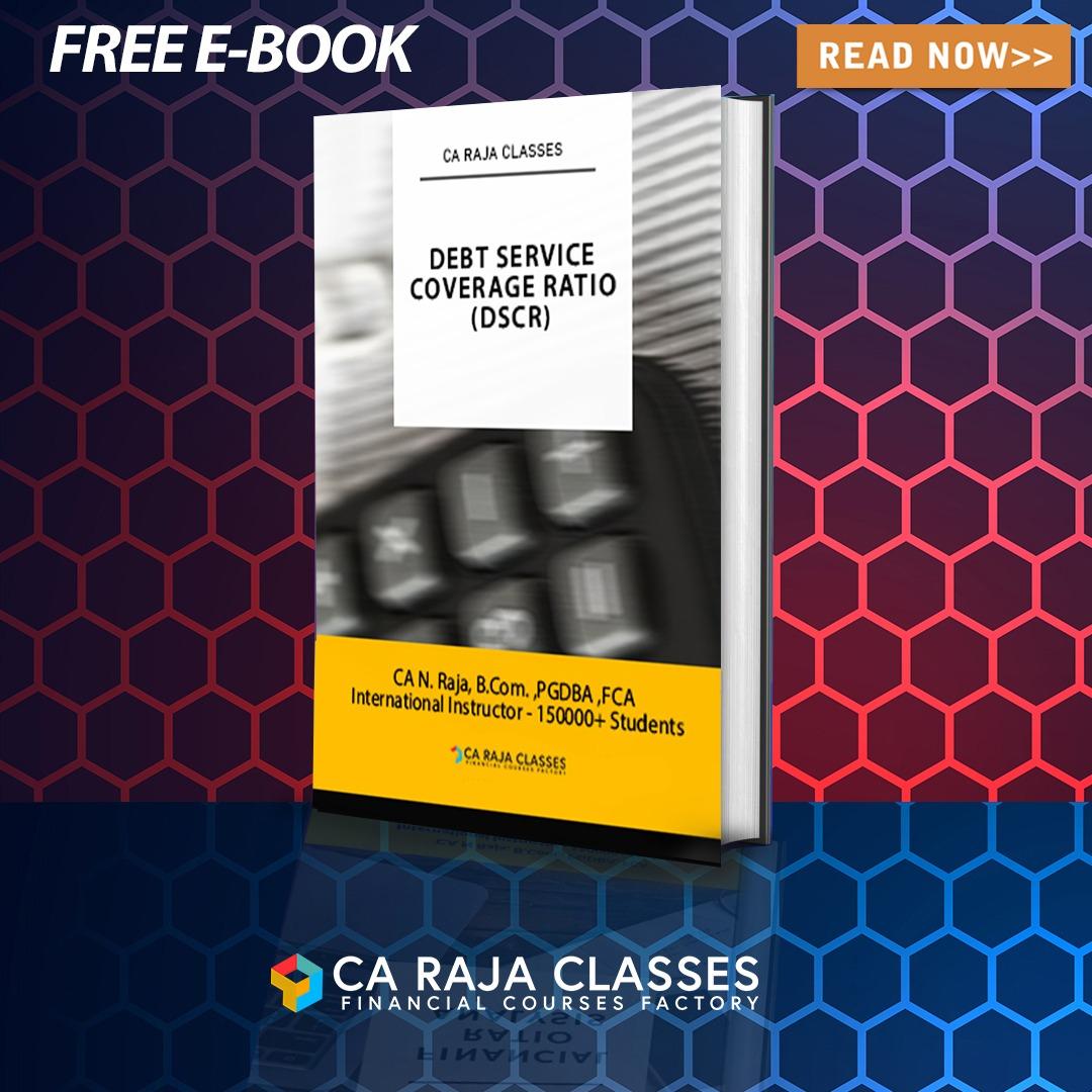 E-Book on Debt Service Coverage Ratio (DSCR) cover