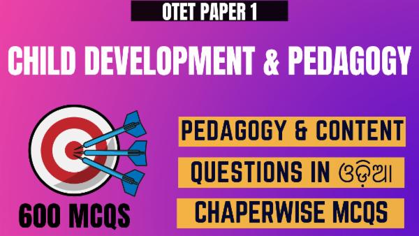 Child Development & Pedagogy for OTET Paper 1 cover
