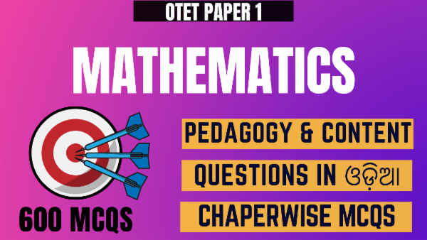 Mathematics- Pedagogy & Content for OTET Paper 1 cover