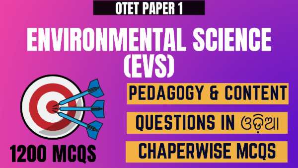 Environmental Science- Pedagogy & Content for OTET Paper 1 cover