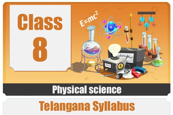 CLASS 8 PHYSICS - TS cover
