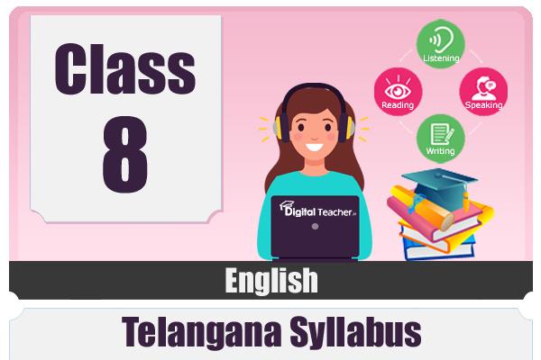 CLASS 8 ENGLISH - TS cover