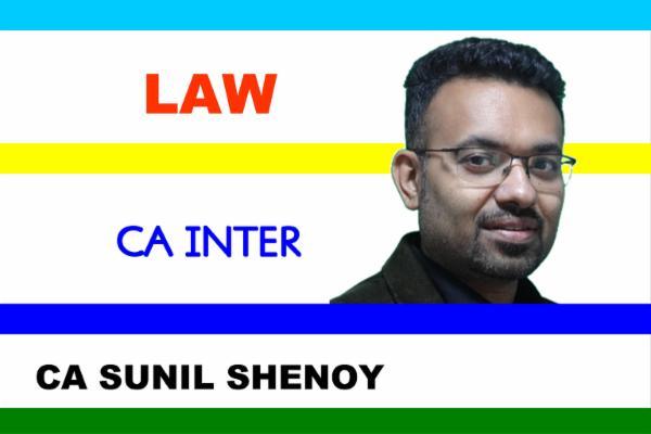 CA INTER - LAW cover