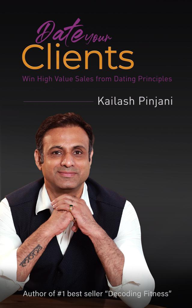 8. Book: Date Your Clients - Win High Value Sales from Dating Principles cover