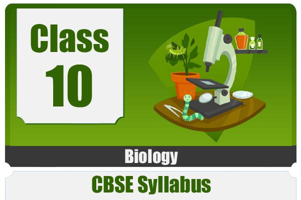 CLASS 10 BIOLOGY - CBSE cover