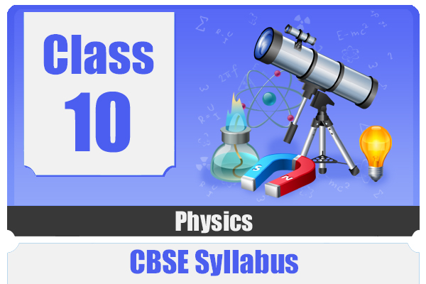 CLASS 10 PHYSICS - CBSE cover