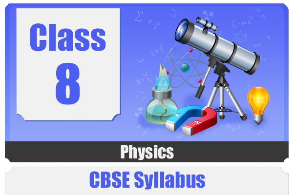 CLASS 8 PHYSICAS - CBSE cover