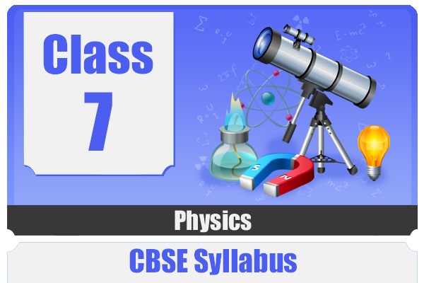 CLASS 7 PHYSICAS - CBSE cover