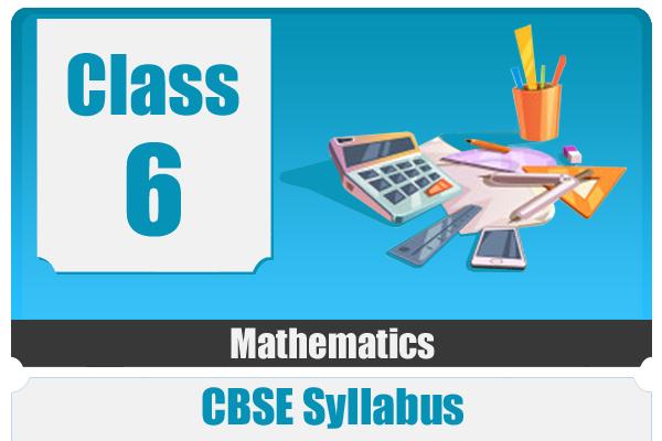 CLASS 6 MATHEMATICS- CBSE cover