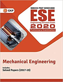 UPSC ESE 2020 : Mechanical Engineering - Guide cover