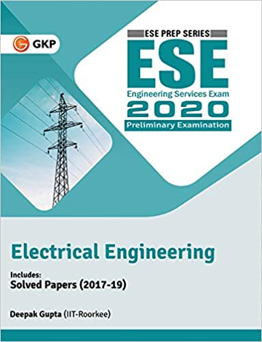 UPSC ESE 2020 : Electrical Engineering - Guide cover