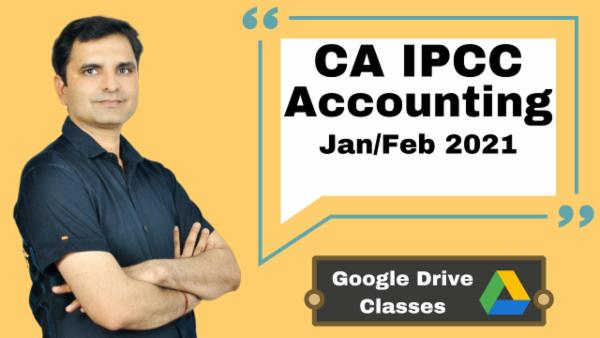 CA IPCC Accounting Full Course - Google drive - Nov 2020 cover