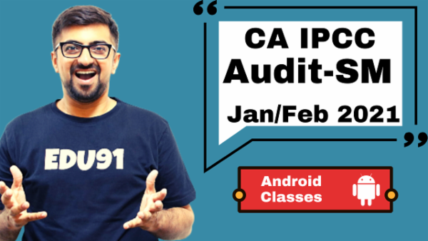 CA IPCC Audit & SM Combo- Android App-Nov 2020 cover